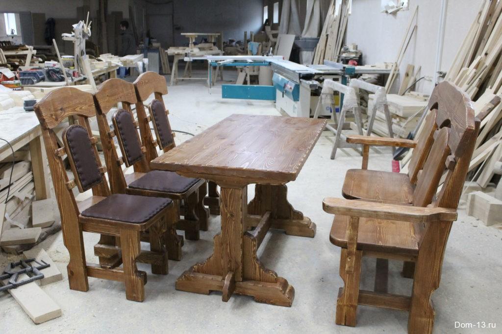 Мебель из брашированного дерева своими руками 36