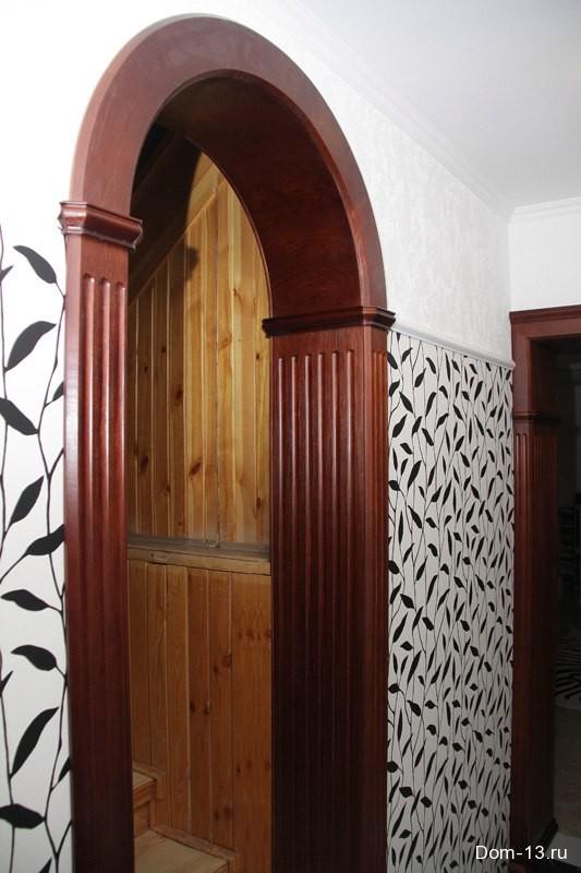 арка на заказ недорого в тюмени коттедж