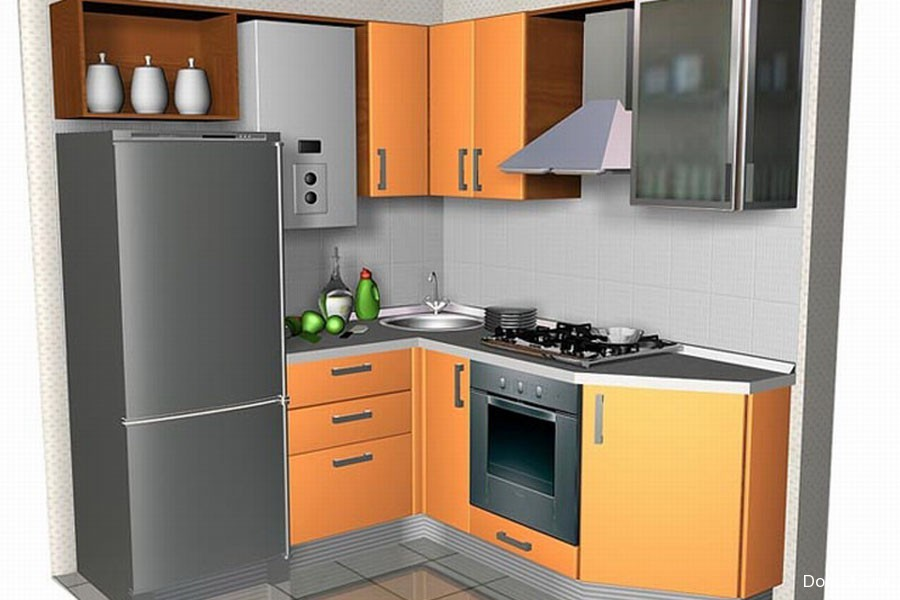 как малогоборитные кухни с газовым котлом материал нитей